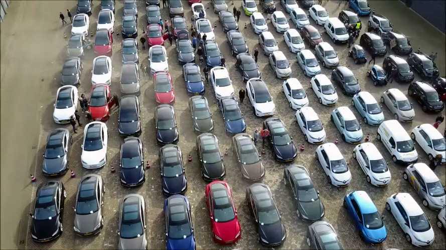 Voici la plus grande parade du monde de véhicules électriques !