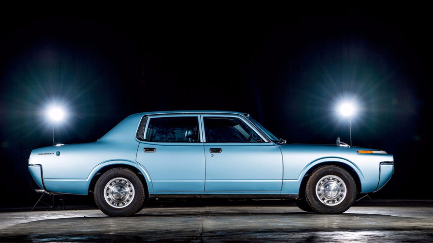 rare 1972 toyota crown revived reunited with family