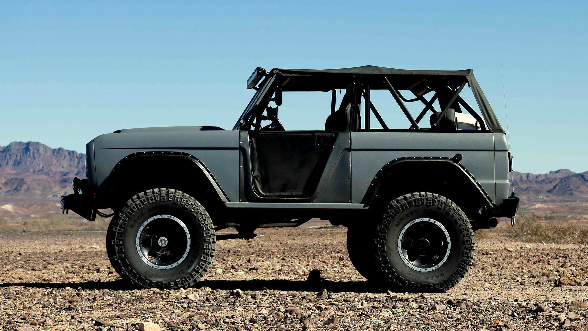 Zero to 60 designs restores a ford bronco as an eleanor tribute