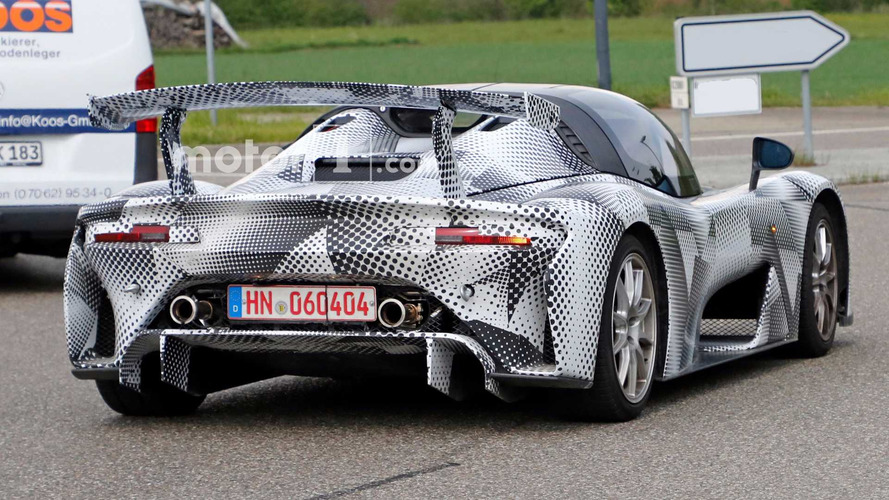 Dallara Road Car Spied With Massive Wing