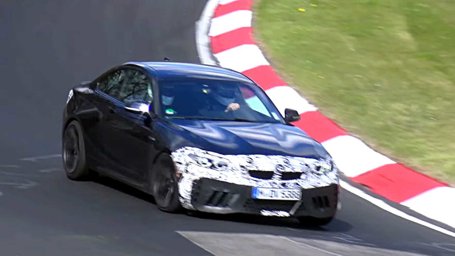 BMW M2 CS Spotted Looking Nimble At Nurburgring