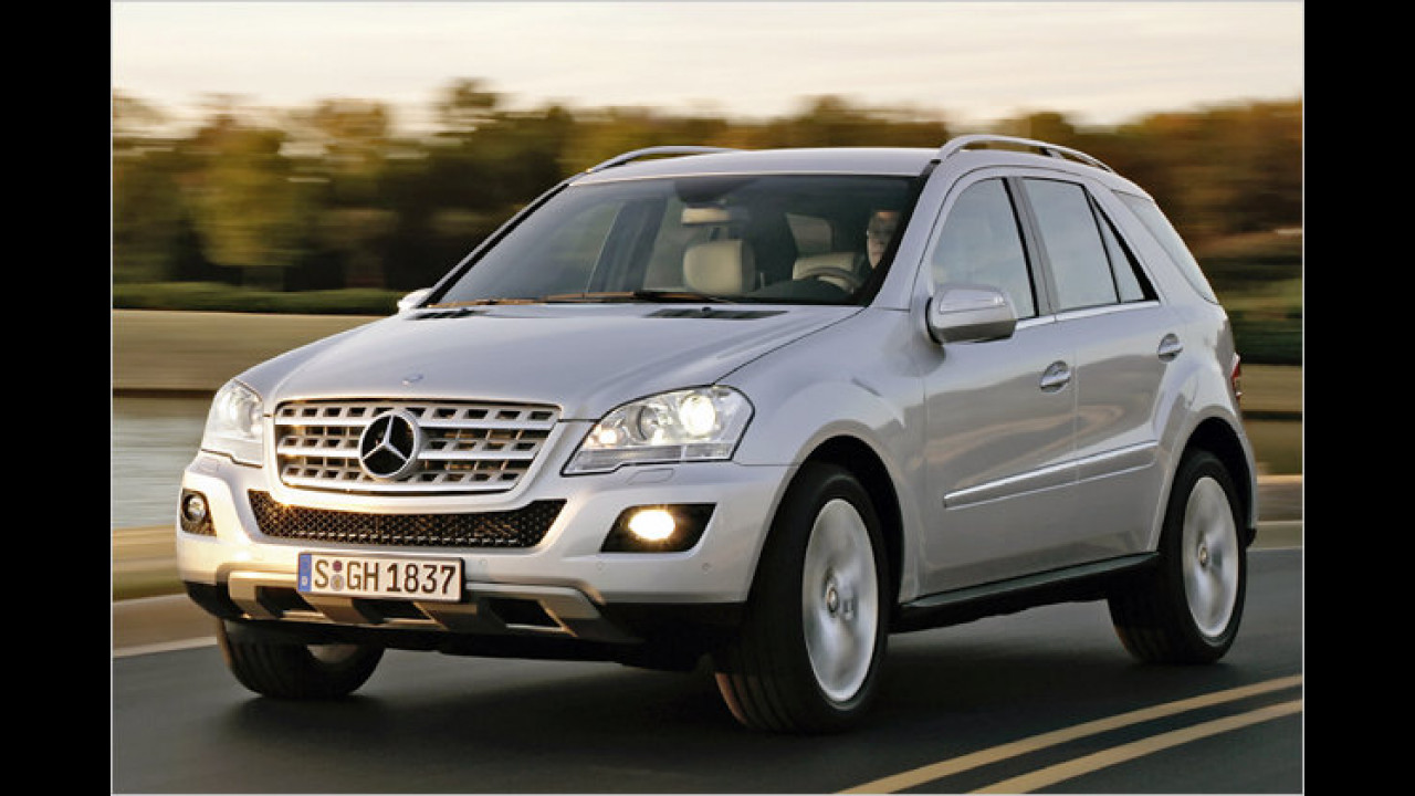 Mercedes ML 350 CDI BlueTEC 4Matic 7G-Tronic