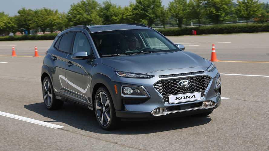 Hyundai Kona SUV Production Stops Just Before U.S. Debut