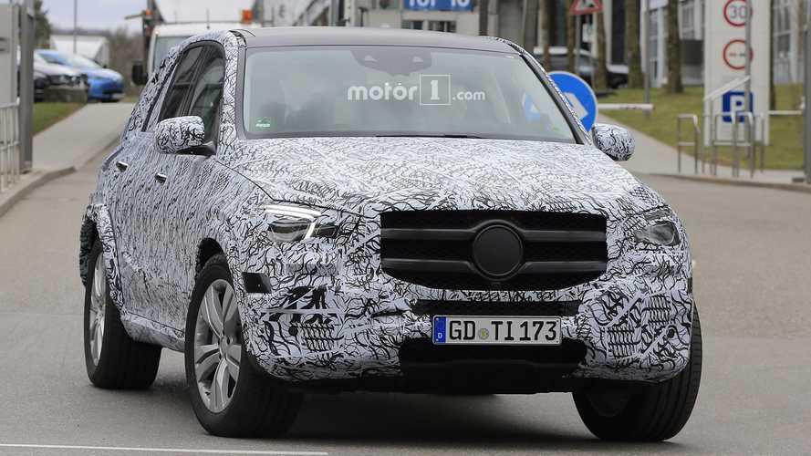 Mercedes GLE 2018 fotos espía