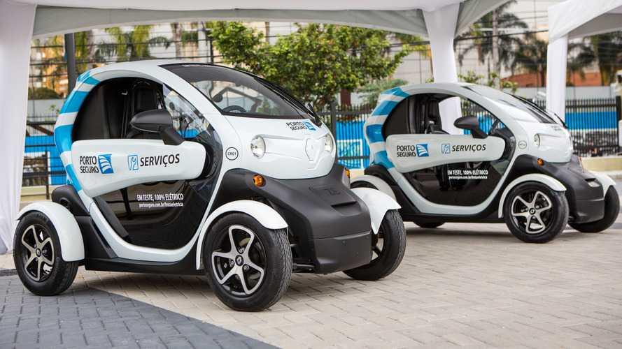 Renault Twizy vai atuar como carro de serviço de seguradora no Brasil