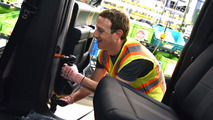 Mark Zuckerberg visits Ford