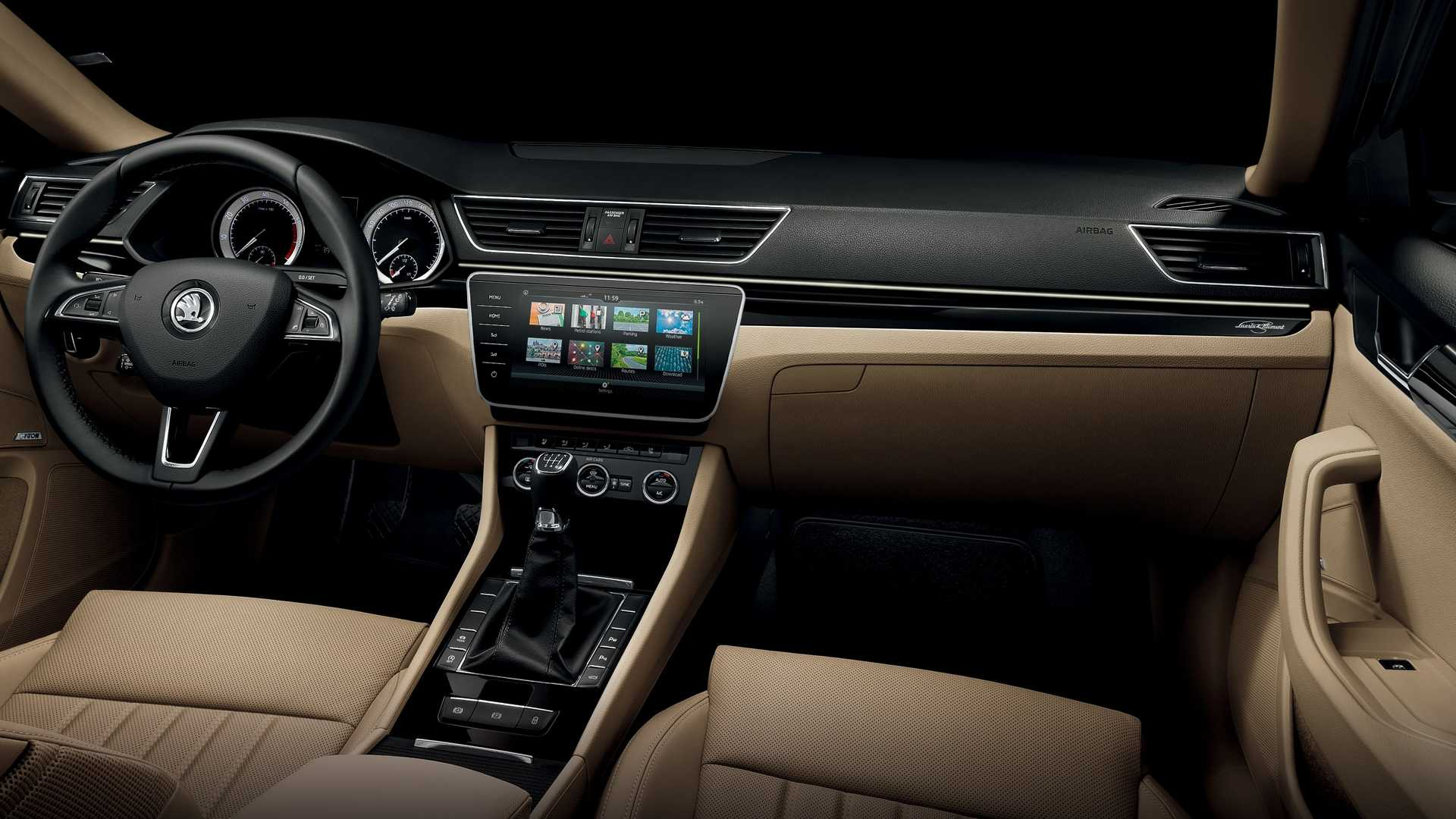 2018 Skoda Superb Gets Updated Infotainment Systems More Tech