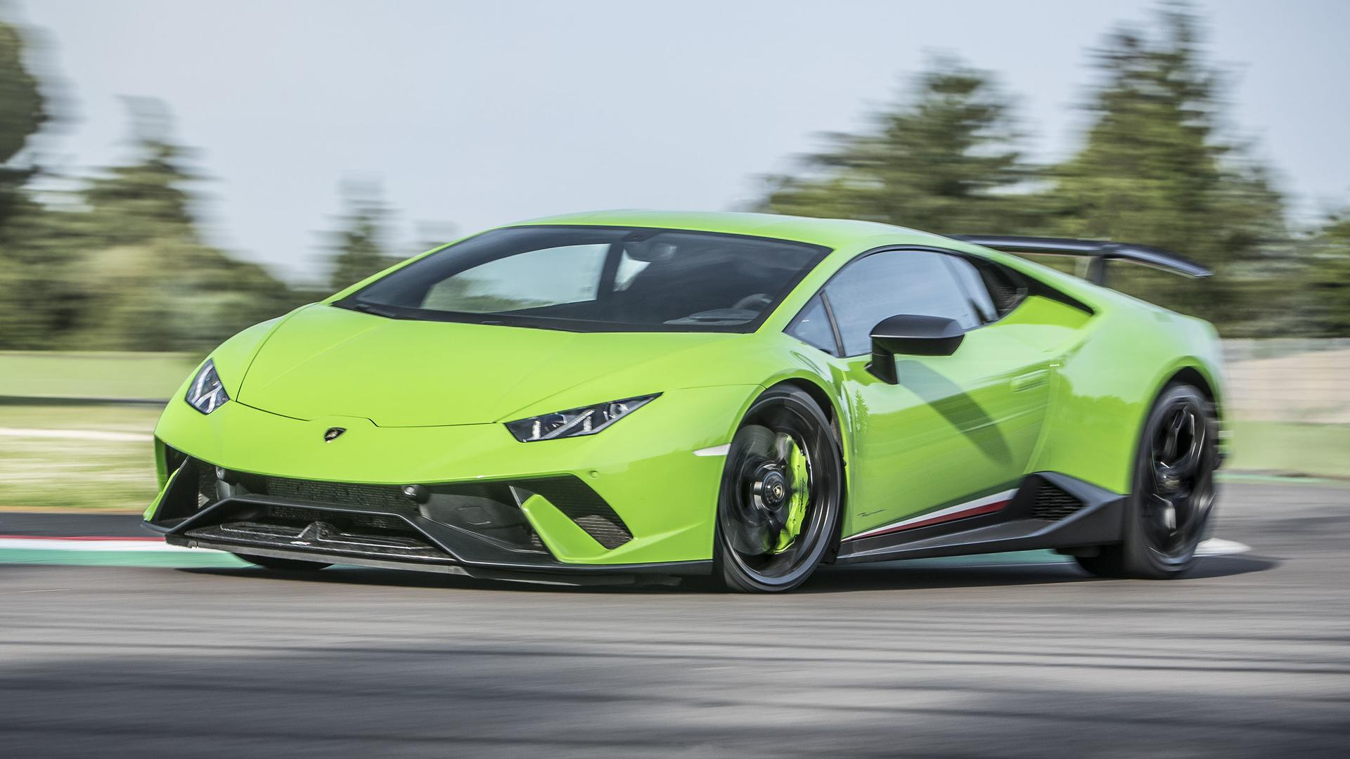 2017 Lamborghini Huracán Performante First Drive Record,Breaking Ability