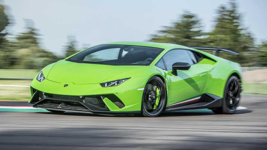 2017 Lamborghini Huracan Performante Dev Fotoğraf Galerisi