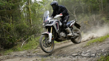 Test Honda Africa Twin DCT in Galles