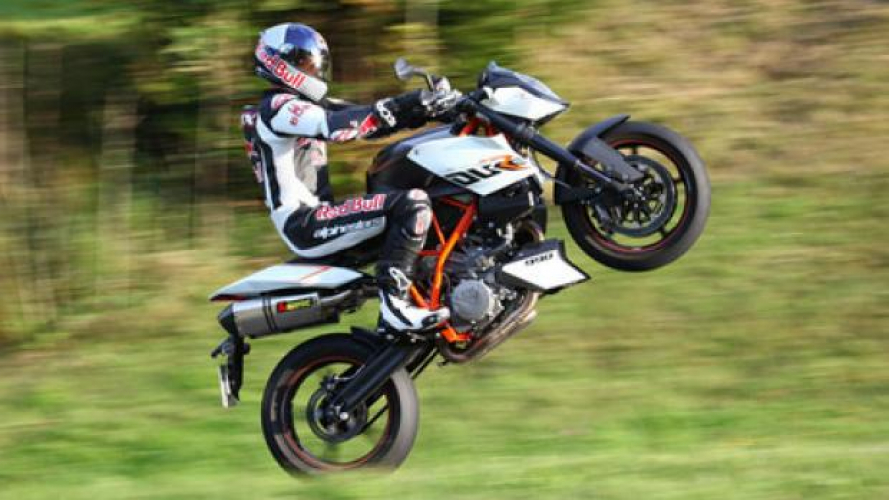 Felix Baumgartner: veloce anche in moto