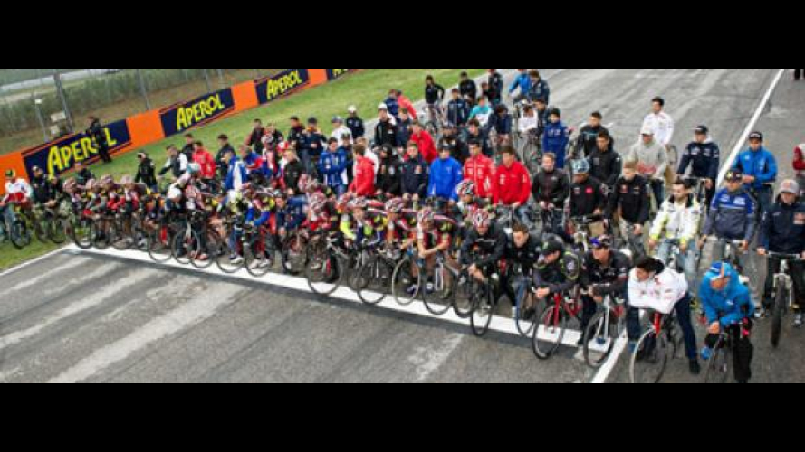 MotoGP 2012 Misano: In bici per Simoncelli