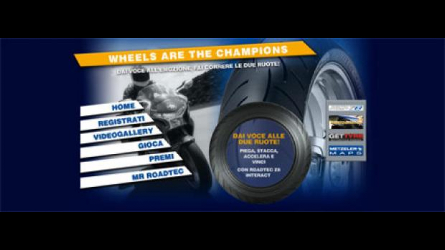 """Concorso Metzeler """"Wheels are the Champions"""""""
