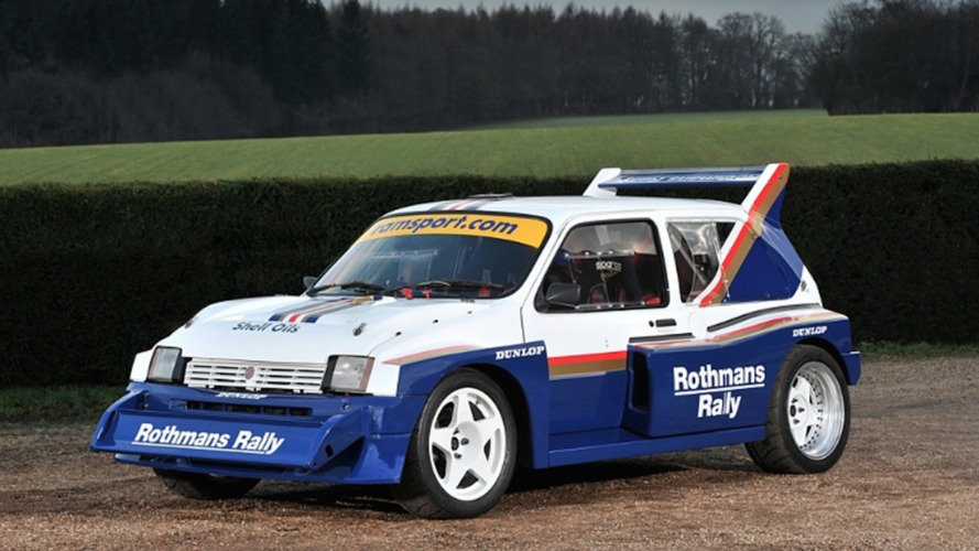 1985 mg metro group b rally car needs a new driver. Black Bedroom Furniture Sets. Home Design Ideas