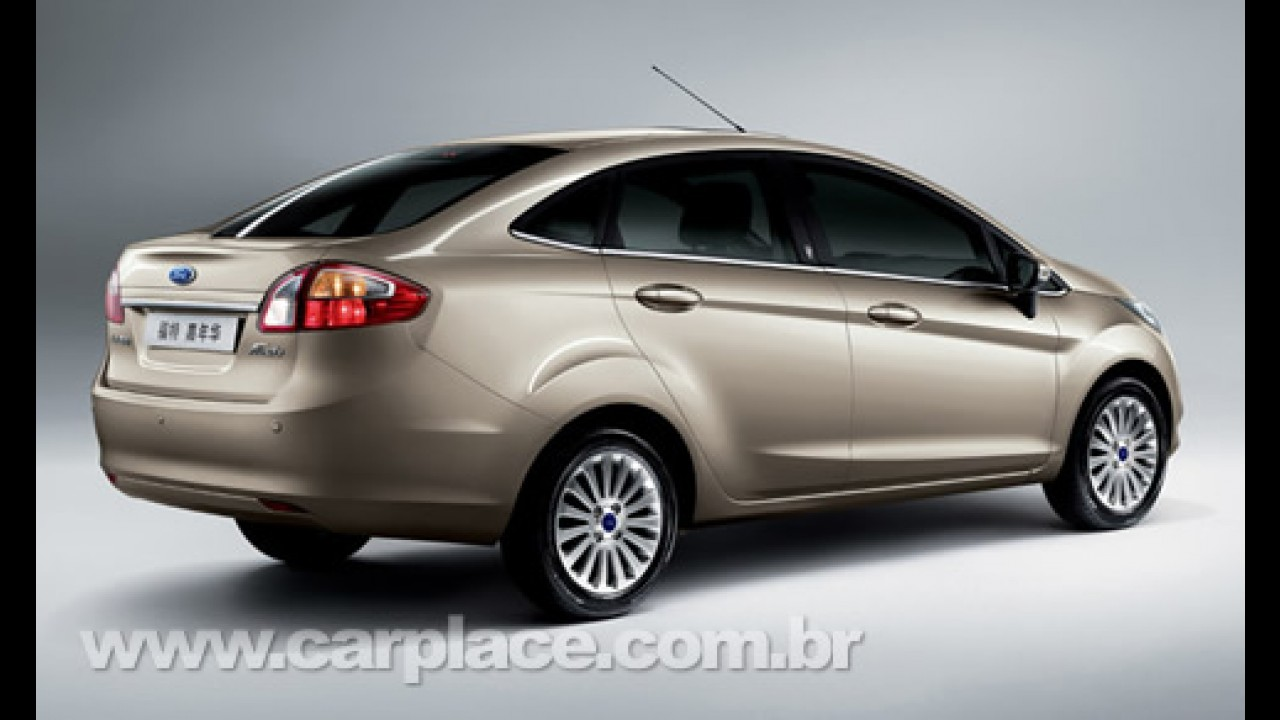 Ford apresenta oficialmente o Novo Fiesta Sedan na China