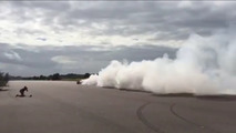 Koenigsegg Regera burnout