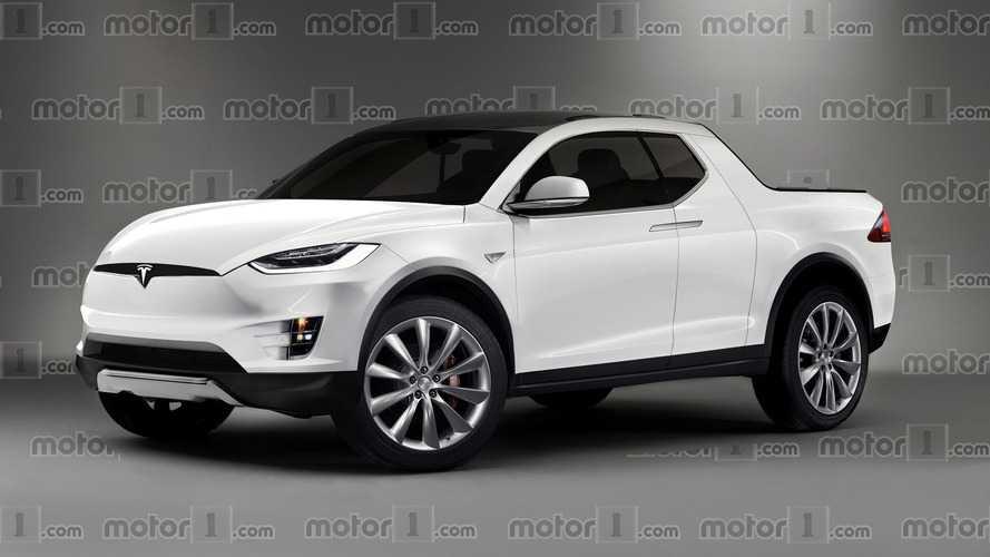 Tesla Model P : une première image du pick-up !