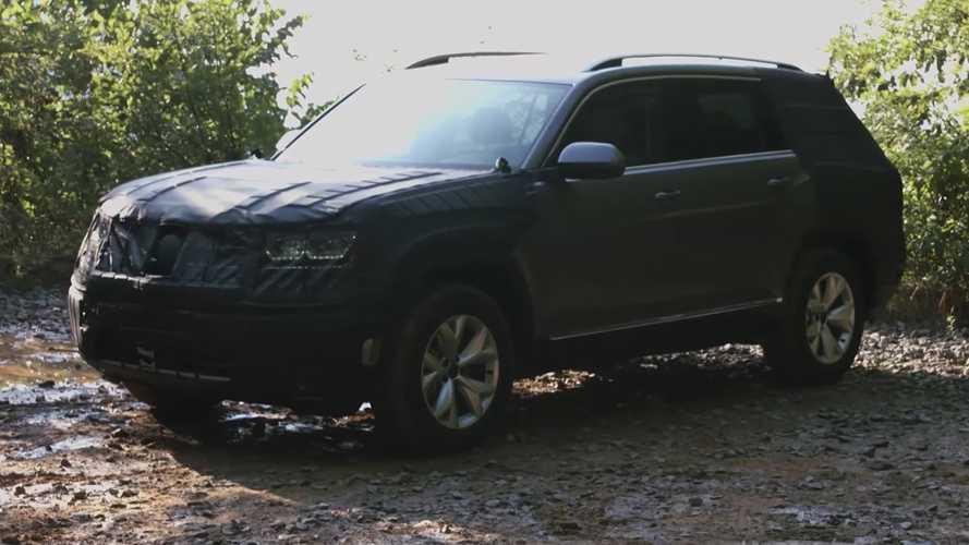 Volkswagen'in B-SUV modelinin adı Atlas olabilir