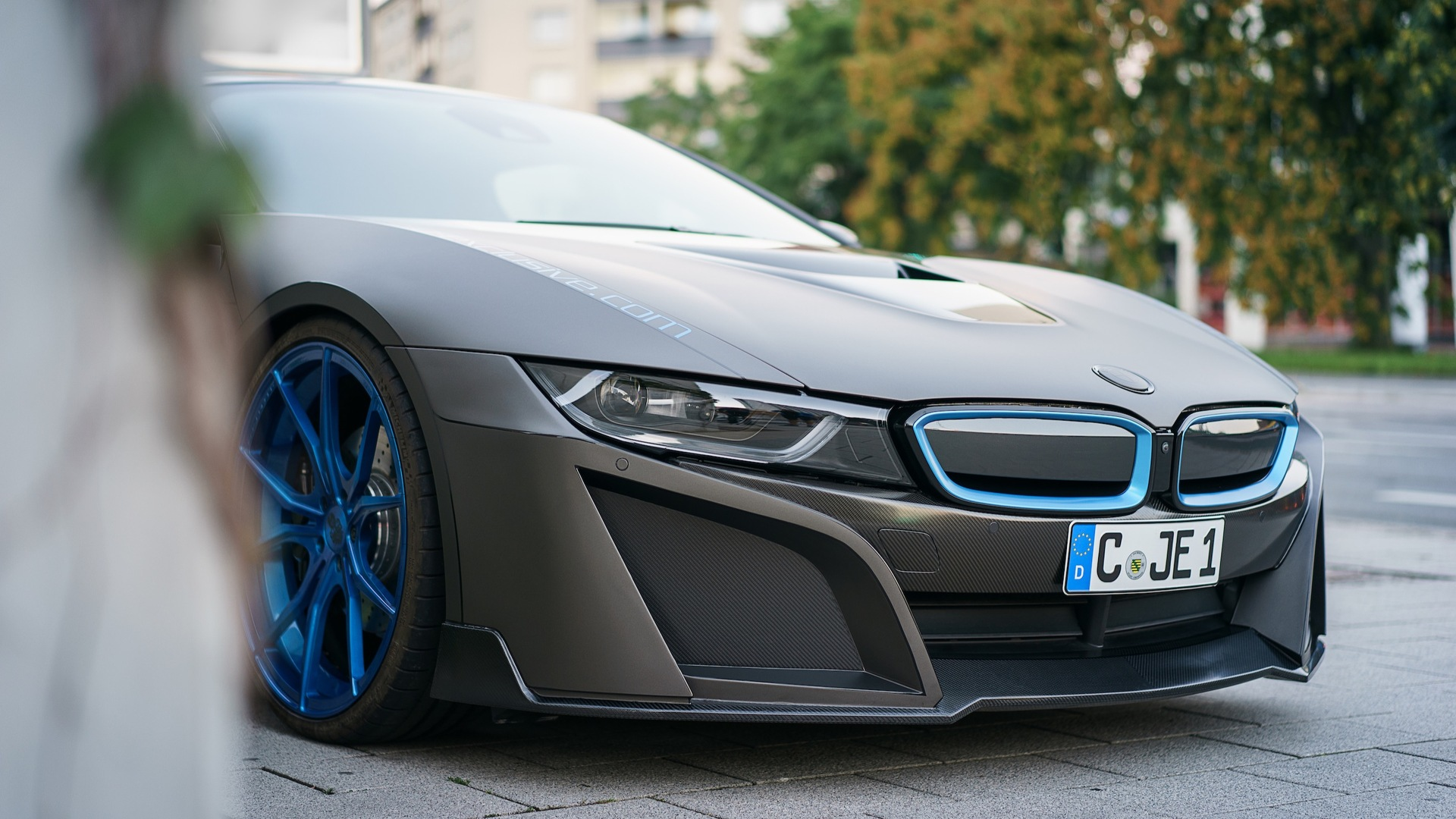Matte Gray Bmw I8 Looks Better Kind Of