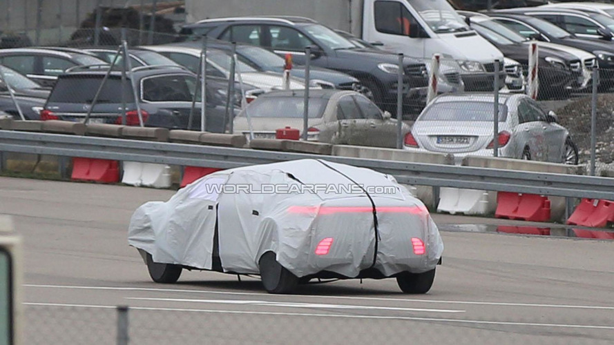 Mercedes autonomous driving concept spied in Germany