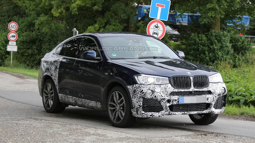 BMW X4 M40i coming later this year with 360 PS