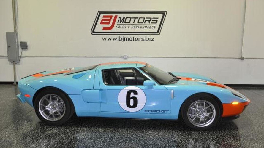2006 Ford Gt Heritage Limited Edition Driven For 11 Miles