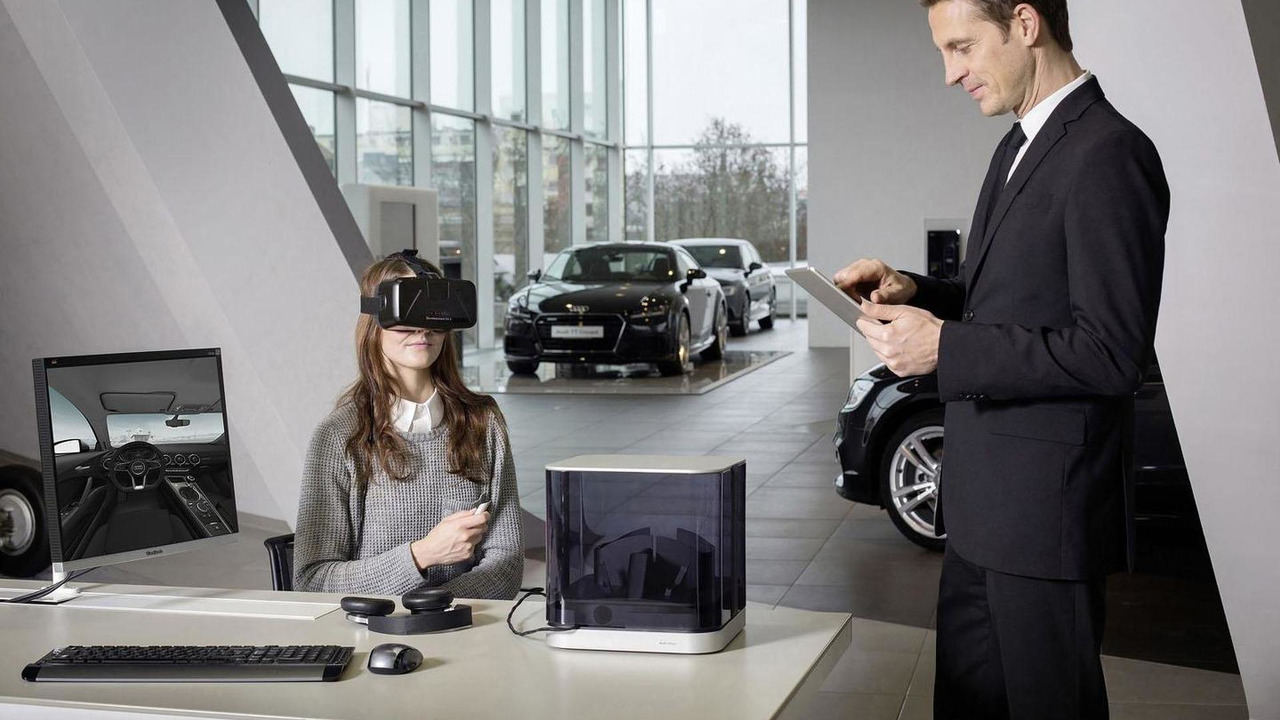 Audi VR experience