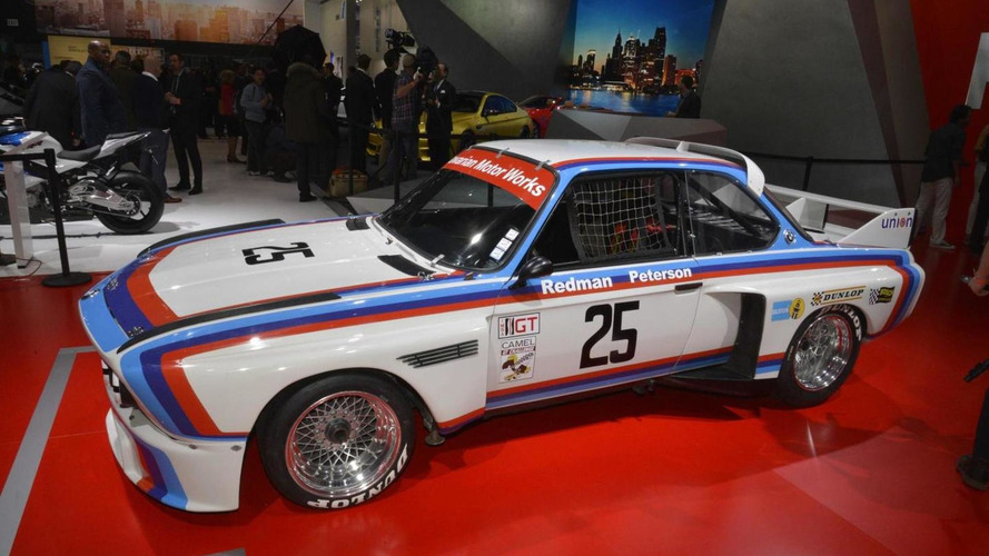 Classic BMW 3.0 CSL shows up at Detroit Motor Show