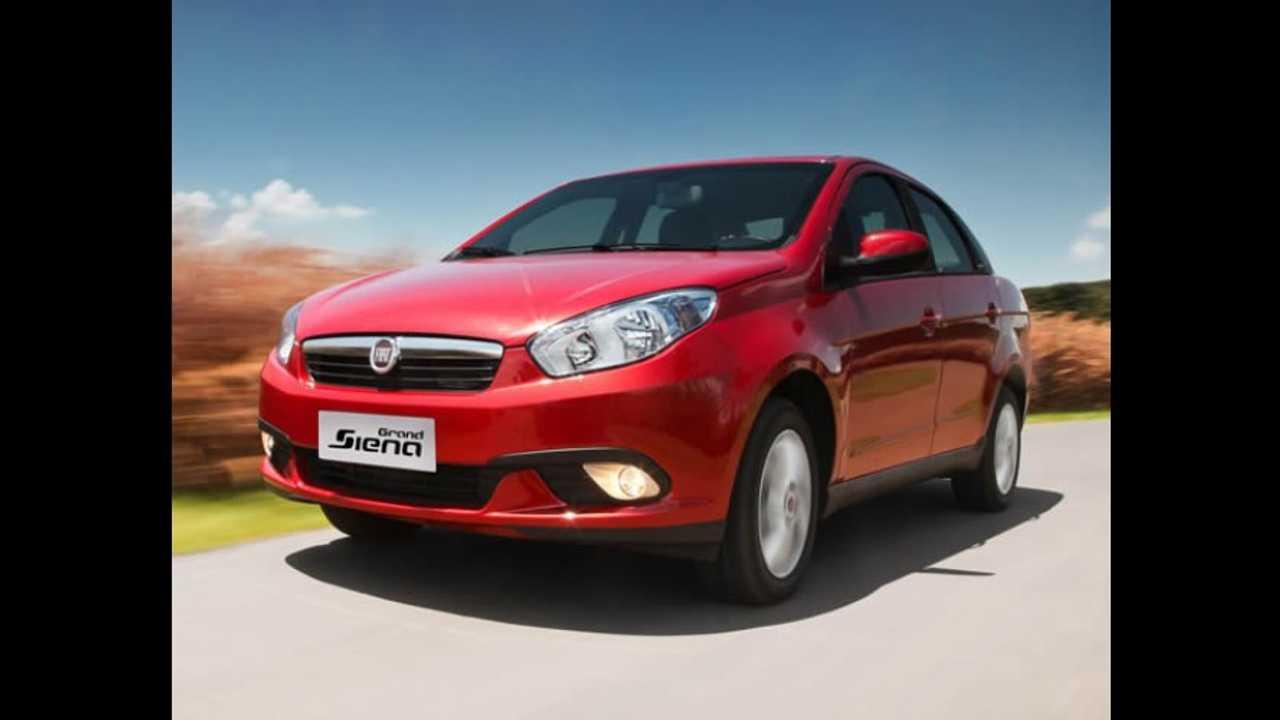 Fiat Grand Siena 2015 chega com poucas novidades - veja os preços