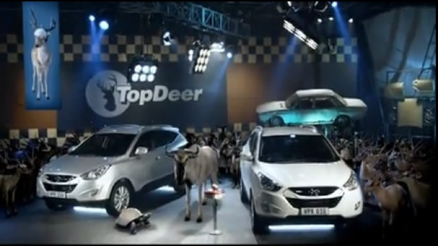 Top Deer? Hyundai debocha do programa Top Gear em comerciais do Novo ix35