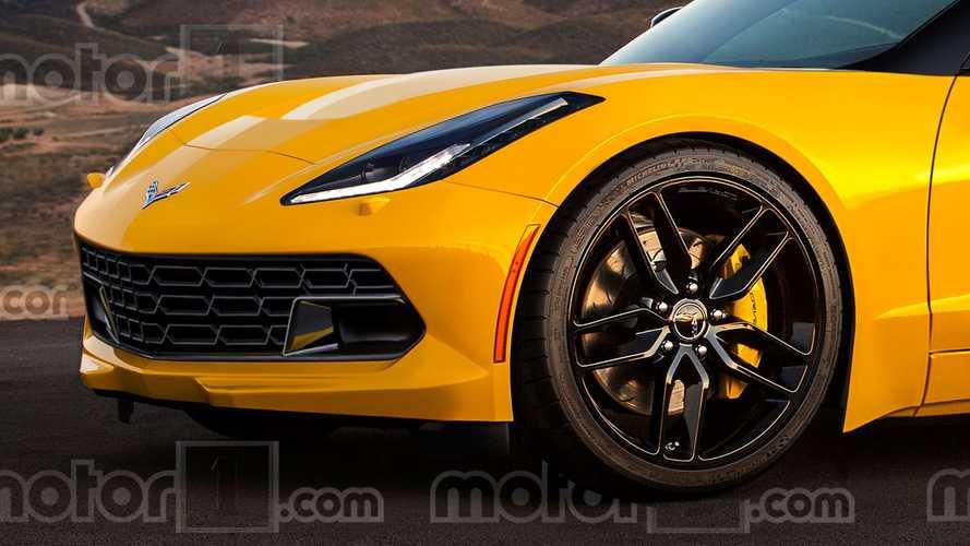 Rendu de la Chevy Corvette C8 à moteur central