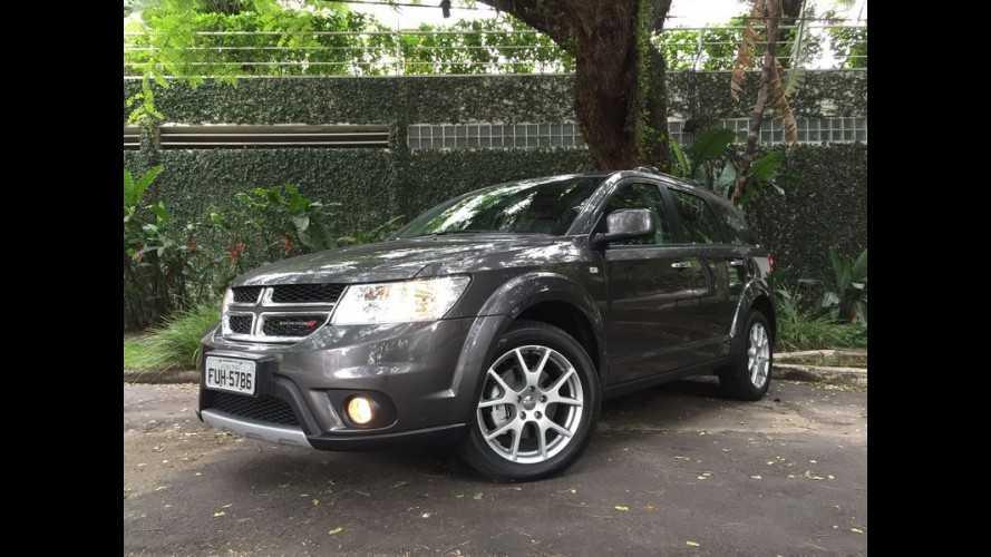 Dodge faz recall do Journey no Brasil para reparar falha no ABS