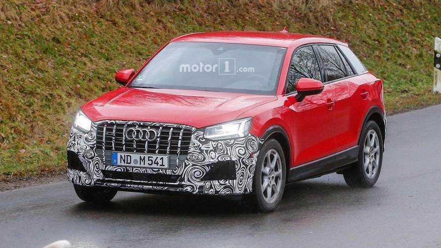 Photos espion - Les premières images du futur Audi SQ2 !