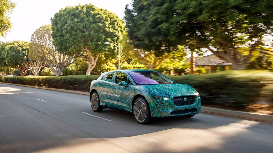 El Jaguar I-PACE 2018 ya tiene fecha de presentación: el 1 de marzo