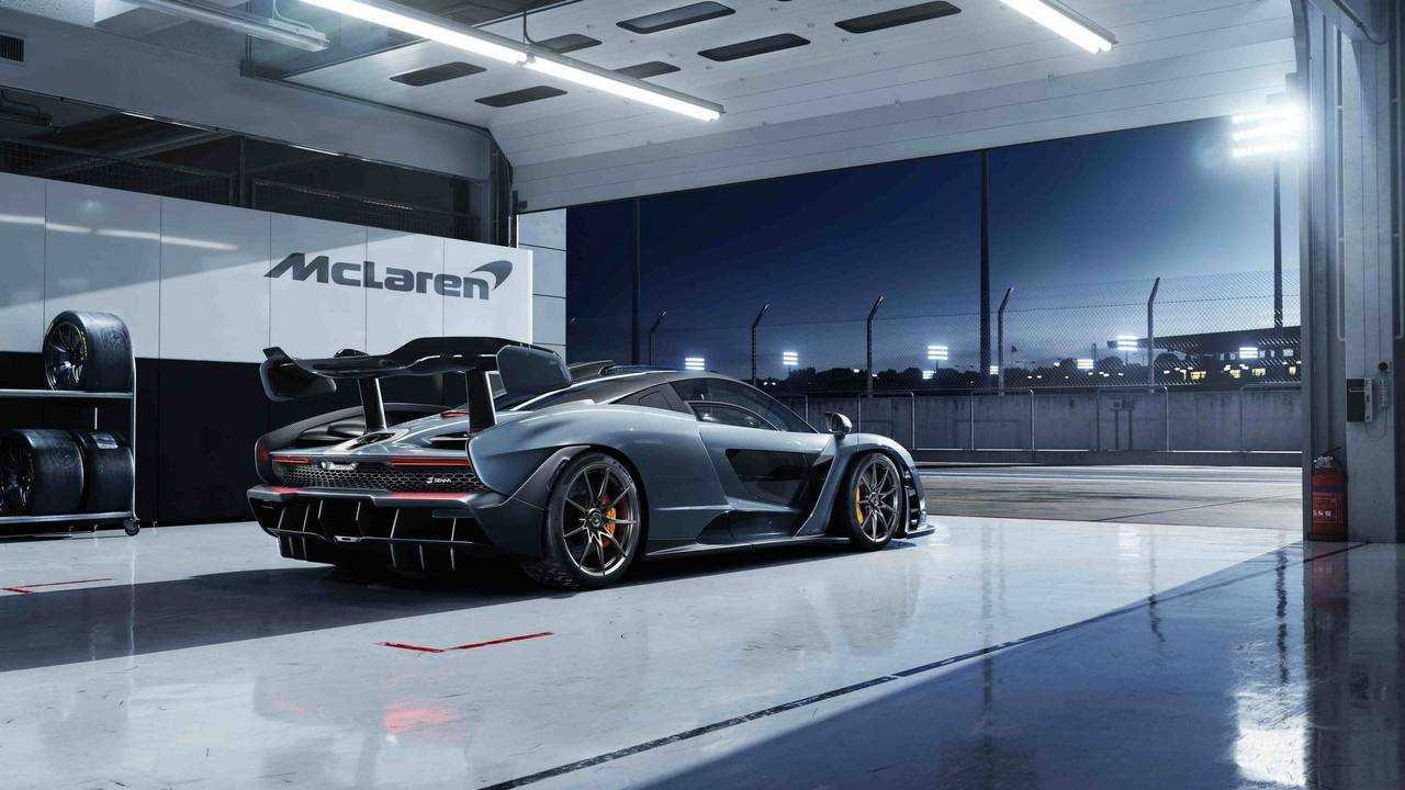 2018 McLaren Senna - Egy kis ízelítő abból, ami még jönni fog