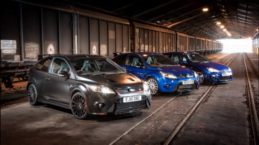 Ford Focus RS, 15 anni di divertimento