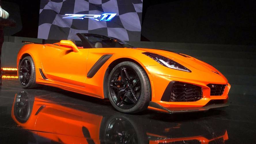Chevrolet Corvette ZR1 Convertible Rocks LA, Costs $123k