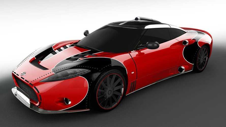 Spyker C8 Aileron'a yeni bir versiyonunu tanıtarak veda etti