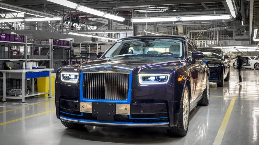 Jótékony célú árverésen értékesítik az első 2018-as Rolls-Royce Phantomot