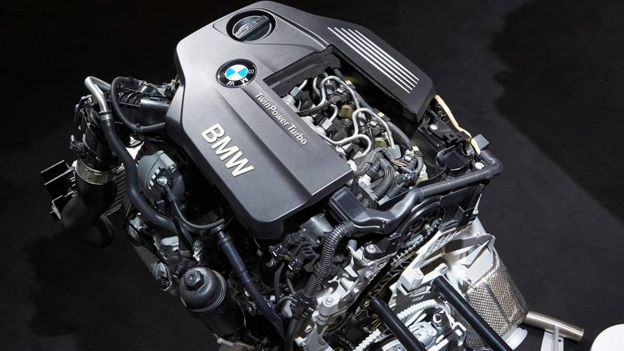 BMW TwinPower Turbo 4-cylinder diesel engine.