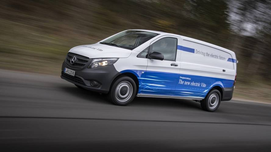 Mercedes to introduce a new range of electric vans