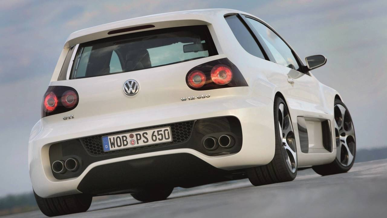 2007 VW Golf GTI W12 konsepti