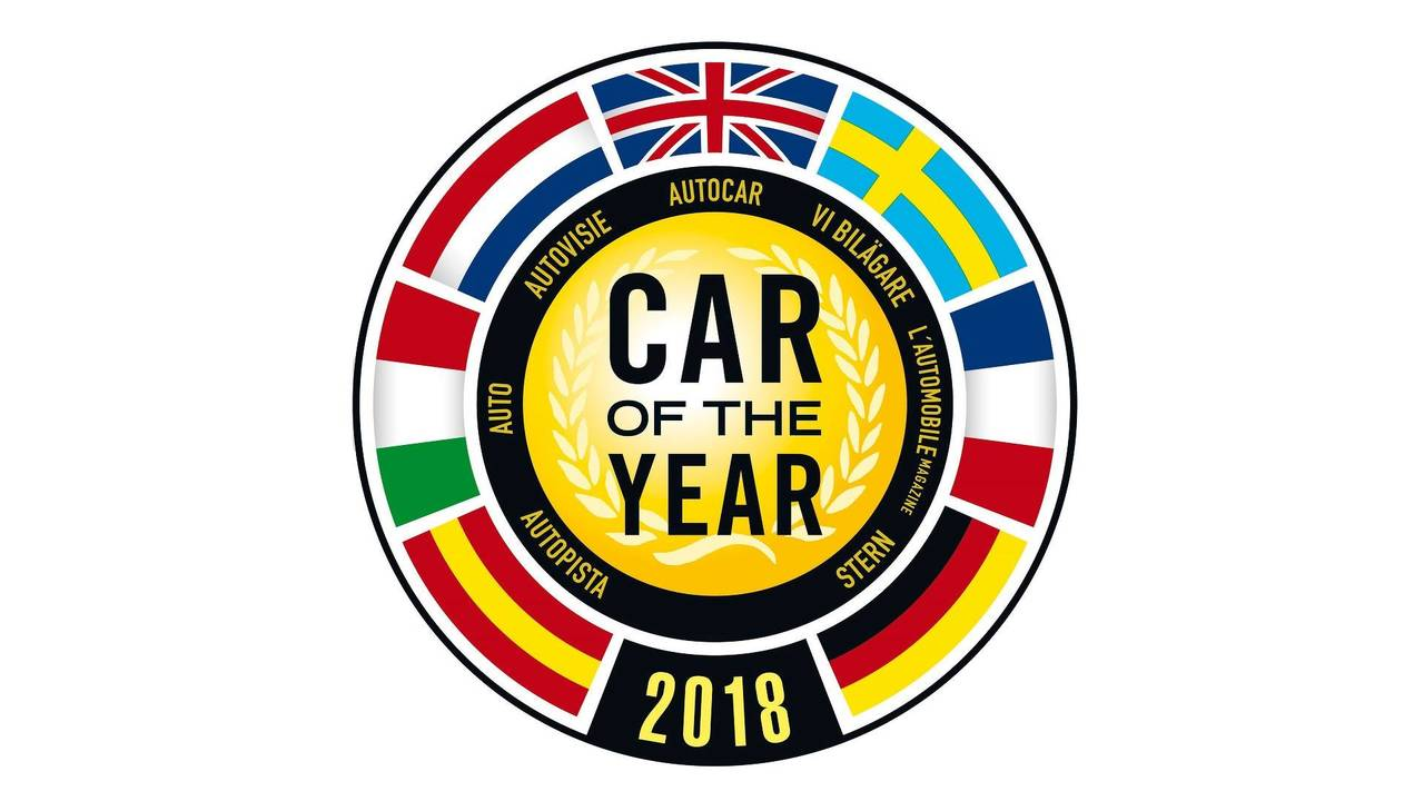 2018 European Car of the Year logo