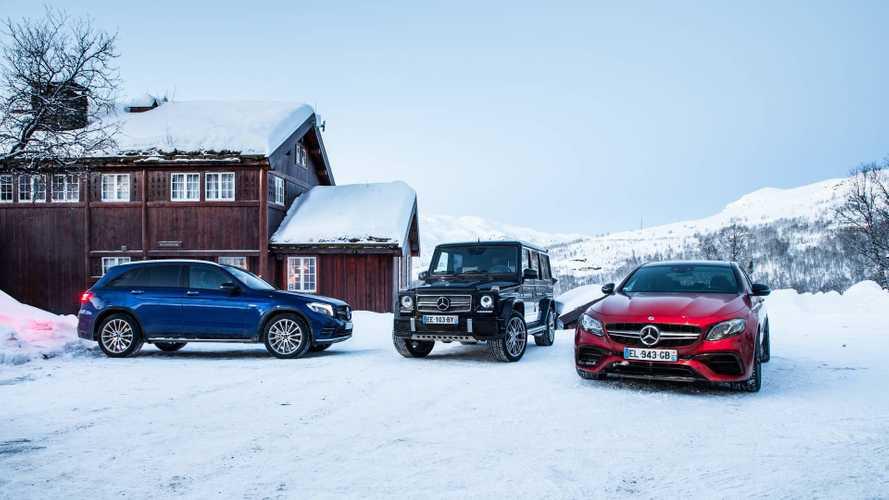Road Trip - La gamme Mercedes 4MATIC à l'épreuve de la Norvège