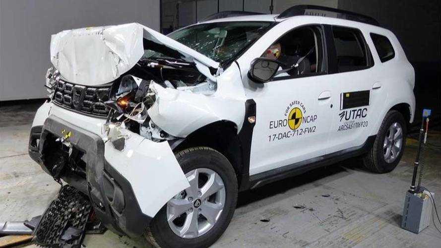 Crash-test - Le Dacia Duster se contente de trois étoiles