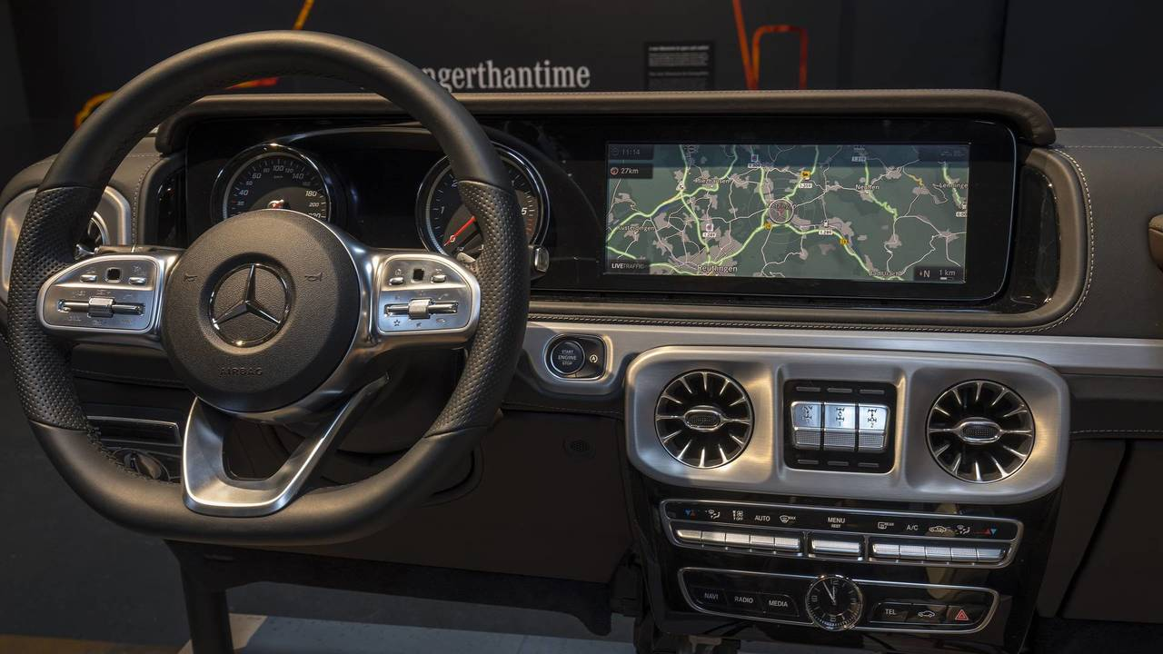 2019 Mercedes G Class Interior Revealed More Space More Luxury