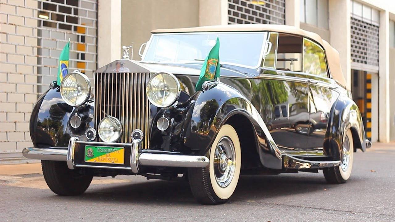 Michel Temer (Brasilien): Rolls-Royce Silver Wraith