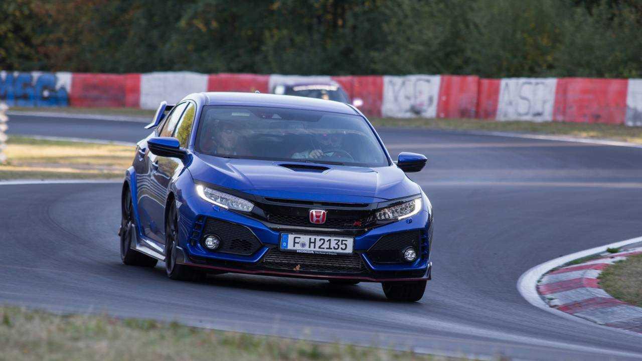 Essai, Honda Civic Type R, Nürburgring
