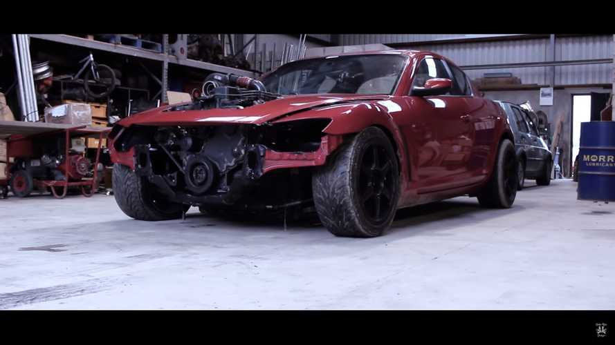 Crazy Mazda RX-8 With A Cummins Diesel Swap Angers Everyone
