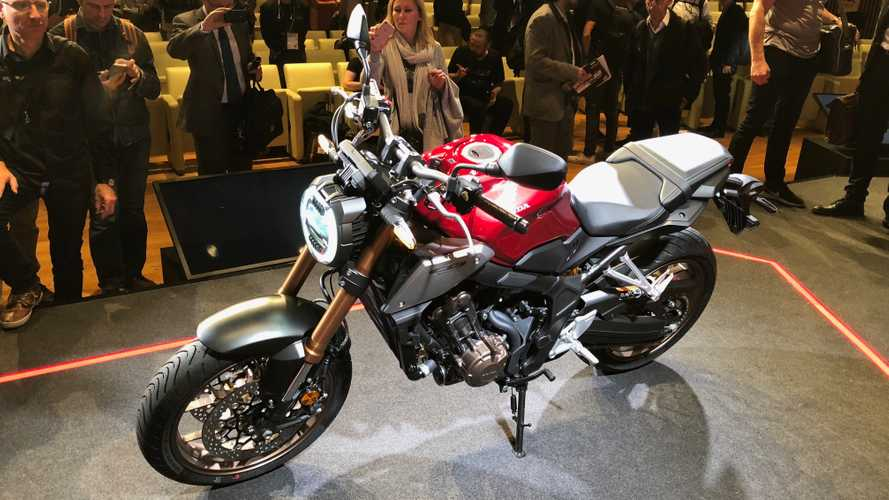 Salão de Milão: Honda lança nova CB 650R com estilo Neo Sports Café